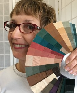Custom personal color palette by Joy Overstreet, Portland's personal color analyst, ColorStylePDX, Portland OR.