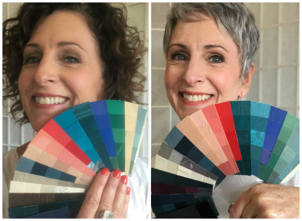 Going gray gracefully. Joy Overstreet, personal color consultant, ColorStylePDX, Portland OR