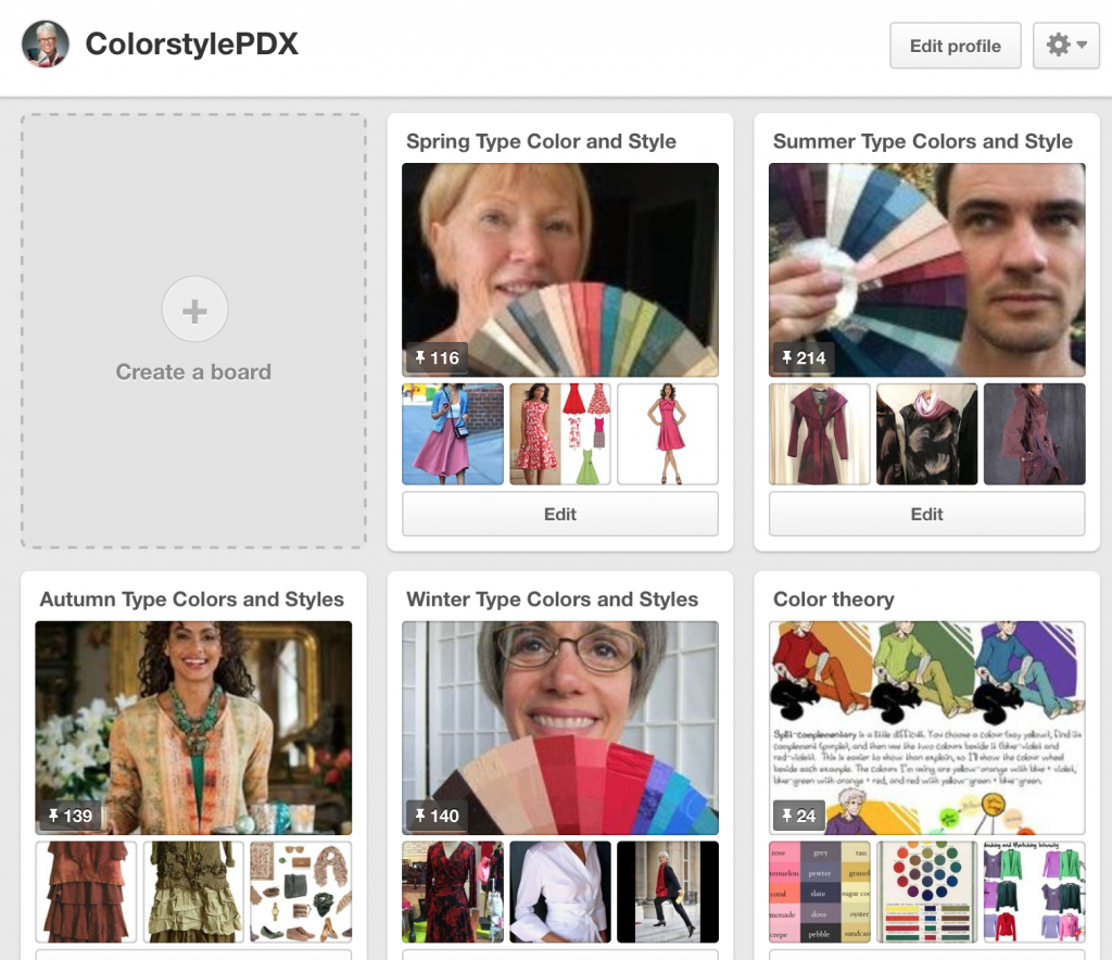ColorStylePDX on Pinterest, Joy Overstreet, Color and Image Consultant, Portland OR