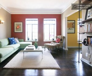 Color palette for Los Angeles apartment. Joy Overstreet, color consultant, Portland, creatingjoyfulspaces.com