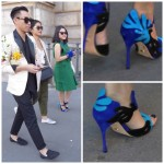 Fabulous shoes at Paris Fashion Week. Joy Overstreet, Portland's Personal Color Analyst, ColorStylePDX.com